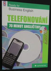 náhled knihy - Ready for business English : 70 minut angličtiny - Telefonování (s CD)