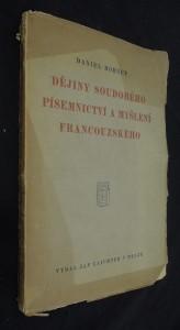 náhled knihy - Dějiny soudobého písemnictví a myšlení francouzského : 1870-1927
