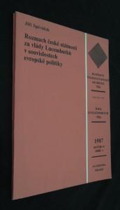náhled knihy - Rozmach české státnosti za vlády Lucemburků v souvislostech evropské politiky
