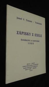 náhled knihy - Zápisky z exilu : Svědectví a varování z III. čs. zahr. odboje : Verše z deníku z roku 1988