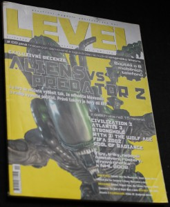 náhled knihy - Level, 2001, ročník 7, č. 11