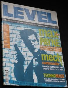 náhled knihy - Level, 2001, ročník 7, č.8