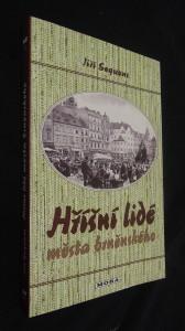náhled knihy - Hříšní lidé města brněnského