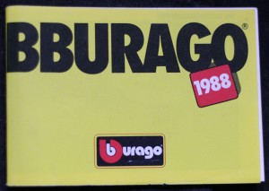 náhled knihy - Bburago 1988