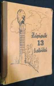náhled knihy - Zápisník 13 bobříků