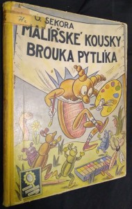 náhled knihy - Malířské kousky brouka Pytlíka
