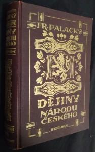 náhled knihy - Dějiny národu českého