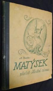 náhled knihy - Matýsek přežil šťastně zimu