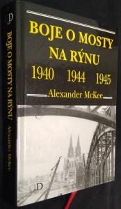 náhled knihy - Boje o mosty na Rýnu 1940, 1944, 1945