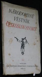 náhled knihy - Národopisný věstník českoslovanský sv. 1-2, 3-4