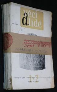 náhled knihy - Věci a lidé: časopis pro řemeslnou a lidovou výrobu, ročník 3, č. 1-2, 2-3, 5-6, 7-8, 9-10
