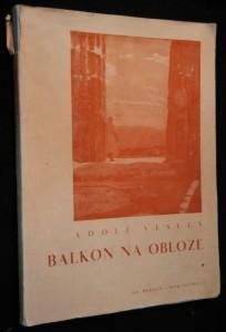 náhled knihy - Balkon na obloze : [román ve verších]