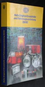 náhled knihy - Hella Original-Ersatzteile und Fahrzeugausrüstung 89/90