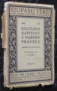náhled knihy - Kulturní kapitoly z našeho pravěku. č. 10