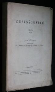 náhled knihy - Z dávných věků. I-194