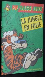 náhled knihy - Pif Gags Jeux: La jungle en folie