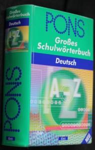 náhled knihy - PONS Großes Schulwörterbuch Deutsch