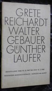 náhled knihy - Grete Reichard- erfurt-bischleben weberin, Walter Gebauer- burgel/thuringen, keramiker, Gunther Laufer-eisenach kunstschmied