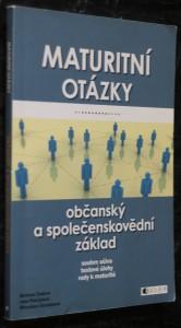 náhled knihy - Maturitní otázky - občanský a společenskovědní základ