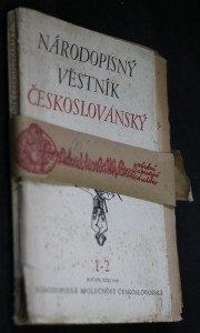 náhled knihy - Národopisný věstník českoslovanský 1-2