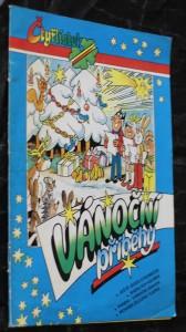 náhled knihy - Vánoční příběhy čtyřlístku