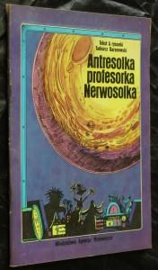 náhled knihy - Antresolka profesorka Newosolka