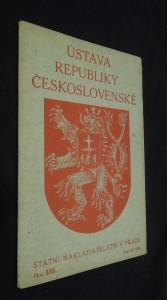 náhled knihy - Ústava republiky Československé