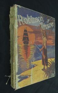 náhled knihy - Robinson Crusoe, jeho osudy, dobrodružství a nebezpečí : [úprava pro mládež]