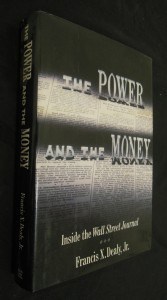 náhled knihy - The Power and the Money : Inside the Wall Street Journal
