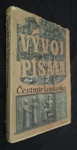 náhled knihy - Vývoj písma