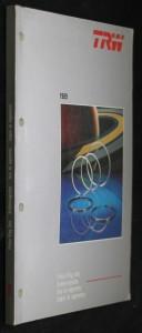 náhled knihy - TRW: Piston Ring Sets, Kolbenringsatze, Jeux de segments, Juegos de segmentos