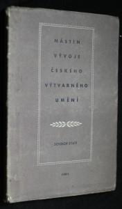 náhled knihy - Nástin vývoje českého výtvarného umění : soubor statí