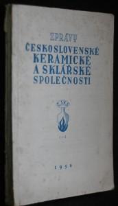 náhled knihy - Zprávy československé keramické a sklářské společnosti č. 1-2, 3-4