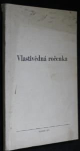 náhled knihy - Vlastivědná ročenka