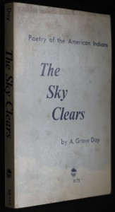 náhled knihy - The Sky Clears: Poetry of the American Indians