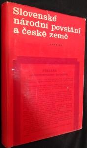 náhled knihy - Slovenské národní povstání a české země : [sborník dokumentů