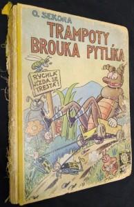 náhled knihy - Trampoty brouka Pytlíka
