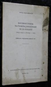 náhled knihy - Bavorský fenik na českém jihozápadě ve 13. století