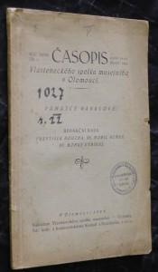 náhled knihy - Časopis vlasteneckého spolku musejního v Olomouci. ročník XXXIII., č. 1.