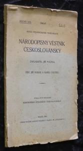 náhled knihy - Národopisný věstník českoslovanský, ročník XXX., č. 1.-2.