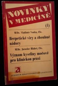 náhled knihy - Herpetické viry a zhoubné nádory