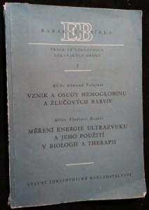 náhled knihy - Vznik a osudy hemoglobinu a žlučových barviv