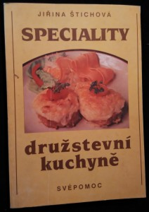 náhled knihy - Speciality družstevní kuchyně