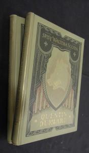 náhled knihy - Spisy Waltera Scotta : Quentin Durward (část první a druhá)
