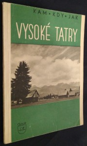 náhled knihy - Vysoké Tatry v zimě i v létě