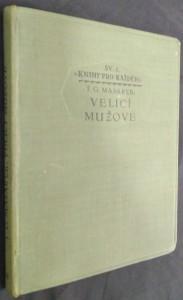 náhled knihy - Velicí mužové