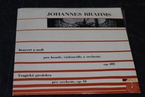 náhled knihy - Johannes Brahms: Koncert a moll pro housle, violoncello a orchestr, op. 102, Tragická předehra pro orchestr, op. 81