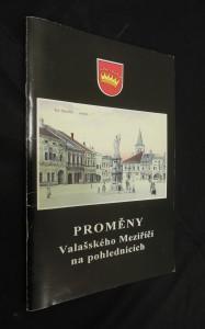 náhled knihy - Proměny Valašského Meziříčí na pohlednicích
