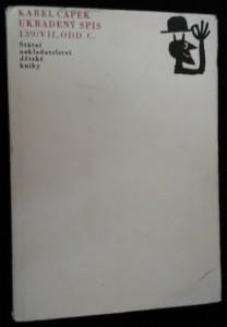 náhled knihy - Ukradený spis 139/VII, ODD. C.