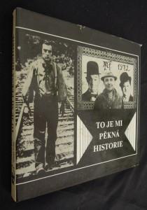 náhled knihy - To je mi pěkná historie : vzpomínka na Myrtila Frídu : antologie textů M. Frídy